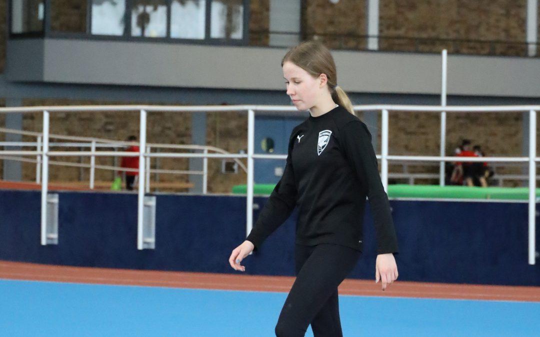 DLV-Bestennadel und Nachwuchskaderlehrgang für Sophie